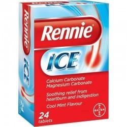 Rennie Ice 24 μασώμενα δισκία
