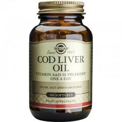 Cod Liver Oil 100 κάψουλες