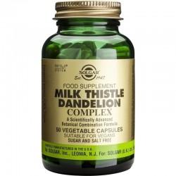 Milk Thistle Dandelion Complex 50 Kάψουλες