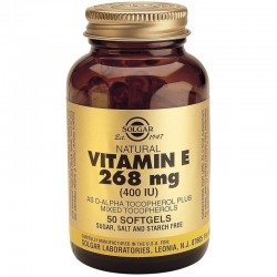 Vitamin E Natural 400iu 50 κάψουλες