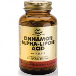 Cinnamon Alpha-Lipoic Acid 60 Ταμπλέτες