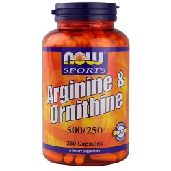 Arginine & Ornithine 500/250 100 κάψουλες
