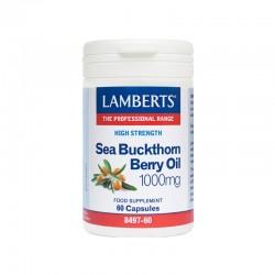 Sea Buckthorn Berry Oil 1000mg 60 Kάψουλες