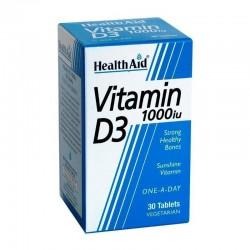 Vitamin D3 1000i.u 30 ταμπλέτες