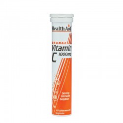 Vitamin C 1000mg Πορτοκάλι 20 αναβράζοντα δισκία