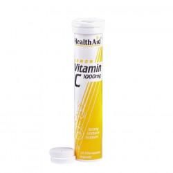 Vitamin C 1000mg Λεμόνι 20 αναβράζοντα δισκία