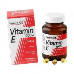 Vitamin E 400IU 268mg 30 κάψουλες