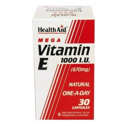 Vitamin E 1000IU 670mg 30 κάψουλες