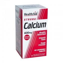 Calcium & Vit. D 600mg 60 μασώμενες ταμπλέτες