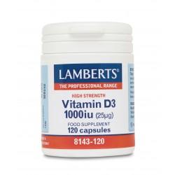 Vitamin D 1000iu 120 ταμπλέτες