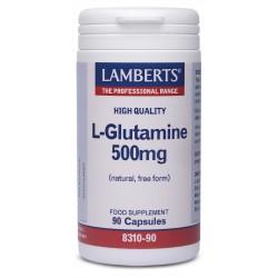 L –Glutamine 500mg 90 κάψουλες