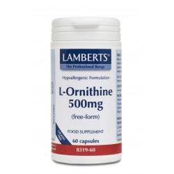 L-Ornithine 500mg 60 κάψουλες