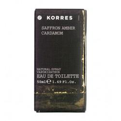 Eau de Toilette Saffron, Amber & Cardamom 50ml