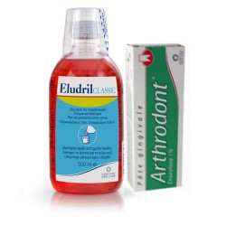 Eludril Classic 200ml + Arthrodont 40gr