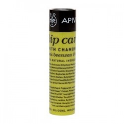 Lip care with Chamomile SPF15 με κερί μελισσών & λάδι ελιάς