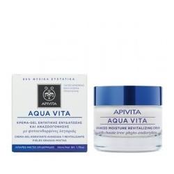 aqua vita κρέμα εντατικής ενυδάτωσης και αναζωογόνησης για λιπαρές/μεικτές επιδερμίδες