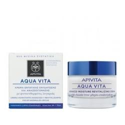 aqua vita κρέμα εντατικής ενυδάτωσης και αναζωογόνησης για κανονικές/ξηρές επιδερμίδες